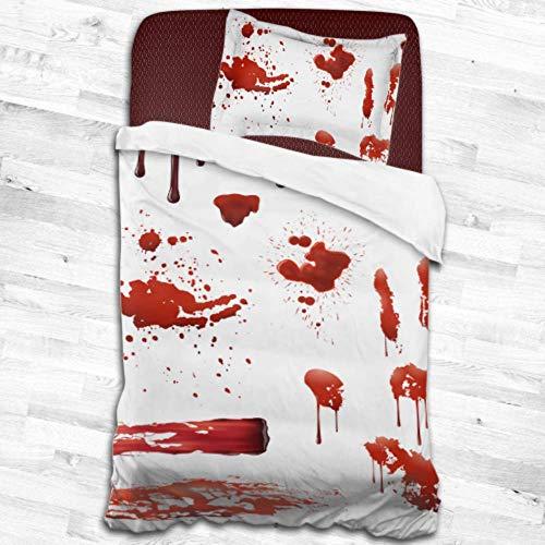 Salpicaduras sangre Conjunto patrones manchas sangre