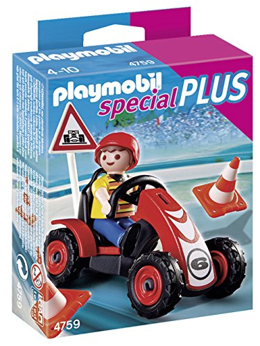 Playmobil - Niño con Coche de Carreras 4759