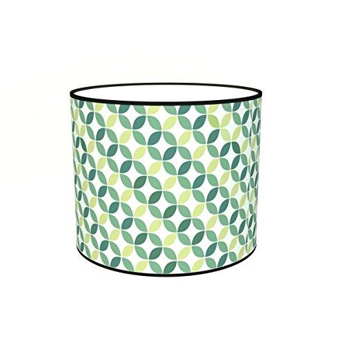 Abat-jours 7111302852051 Imprimé Fred Lampe de Chevet, Tissus/PVC, Multicolore