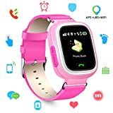 Best Relojes de pantalla táctil - Niños SmartWatch Telefono, GPS LBS WiFi Actividad Tracker Review