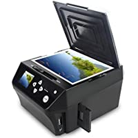 DIGITNOW! Film & Slide Scanner di immagini multi-funzione combinata, convertire 135 Film/35mm, negativi/diapositive 110Film/16mm & foto/documento in HD 22MP digitale JPG file, include Gratis 8 GB scheda di memoria!