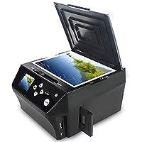 DIGITNOW!22MP Film &Slide Photo Multi-function Scanner, Convert 135 Film/35mmSlide /110Film/Photo/Document/Business card to HD 22MP Digital JPG Files,Includes 8GB Memory Card!
