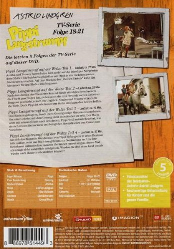 Pippi Langstrumpf - TV-Serie, Folge 18-21: Alle Infos bei Amazon