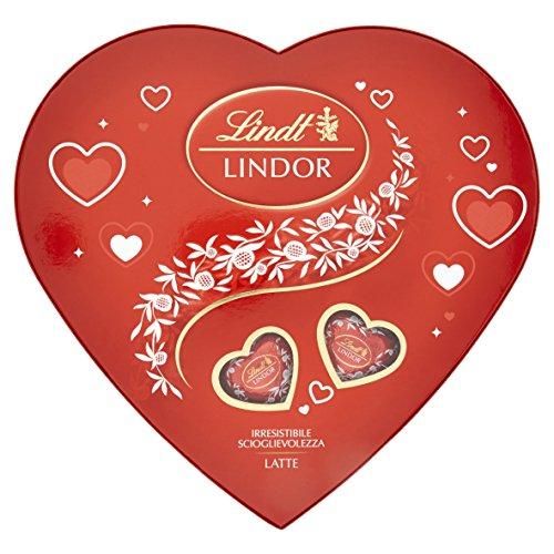 Lindt Lindor - Caja de corazones Lindor - 178 g