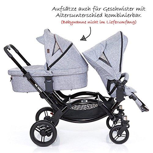 ABC Design Zoom – Zwillings- und Geschwisterkinderwagen - 8