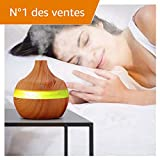 300Ml Humidificateur Ultrasonique Diffuseur Aromatherapie Humidificateur Purificateur...