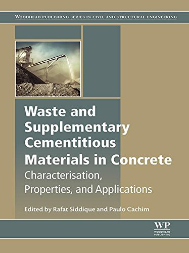 Waste and Supplementary Cementitious Materials in Concrete: Characterisation, Properties and Applications (Woodhead Publishing Series in Civil and Structural Engineering) (English Edition) - Eco-materialien