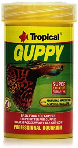 Tropical Guppy Flockenfutter für Guppies und Lebendgebärer, 100ml - 230 Italienischen Eisen