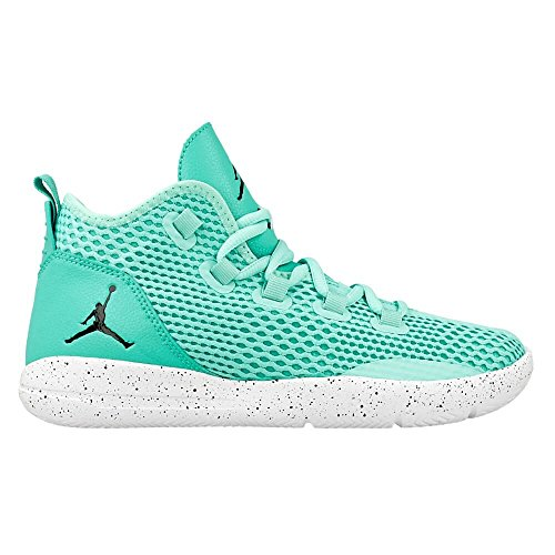 Nike Hyper Turq / Black-hypr Jade-wht, espadrilles de basket-ball garçon Turquoise - Turquesa (Hyper Turq / Black-Hypr Jade-Wht)