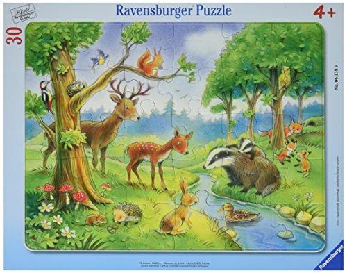 "Ravensburger Rahmenpuzzle 06138"" Heimische Waldtiere Kinderpuzzle"