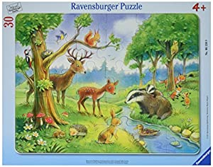 Ravensburger 061389 30pieza(s) rompecabeza - Rompecabezas (Tradicional, Dibujos, Niños, 4 año(s), Niño/niña, 30 Pieza(s))