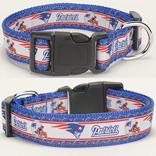Patriots New England NFL Hundehalsband Halsband Hund Dog American Football