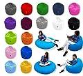 Patchhome 2 in 1 Funktion Sitzsack Sitzkissen Bean Bag - 100cm Durchmesser - In & Outdoor geeignet fertig befüllt in Verschiedene Farben erhältlich von Patchhome bei Gartenmöbel von Du und Dein Garten