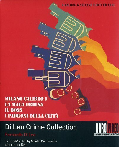 Fernando Di Leo Crime Collection 4 Disc Box Set