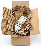 Füllmaterial mind. 4kg Füllstoff 10cm breit Polstermatten Karton-Schredder Papp-Shredder perfekt für Schuhkartons/Maxibriefe