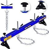 Masko® Motorbrücke ✓ Motorheber ✓ Motorhalter ✓ Kotflügeltraverse | bis 500 kg | Modell: Blau