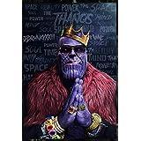 Good Hope Thanos Artwork Design Avengers Infinity War Poster (Matte Paper, 13 X 19 Inch, Multicolour)