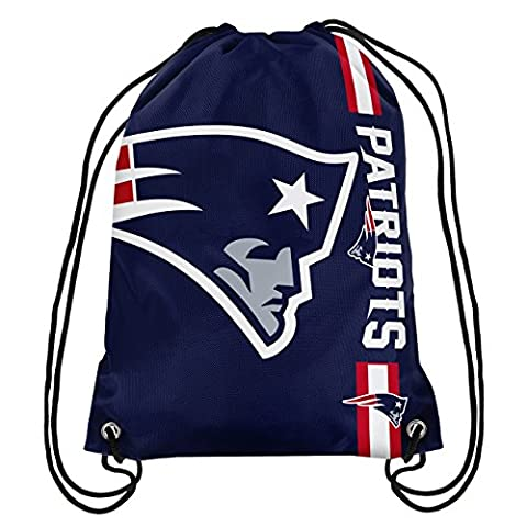 Forever Collectibles New England Patriots Cropped Logo NFL Turnbeutel