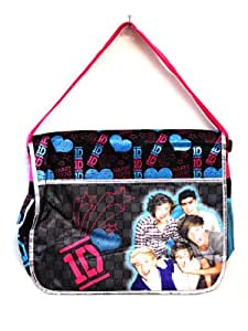 Black One Direction Messenger Bag - One Direction Laptop Bag