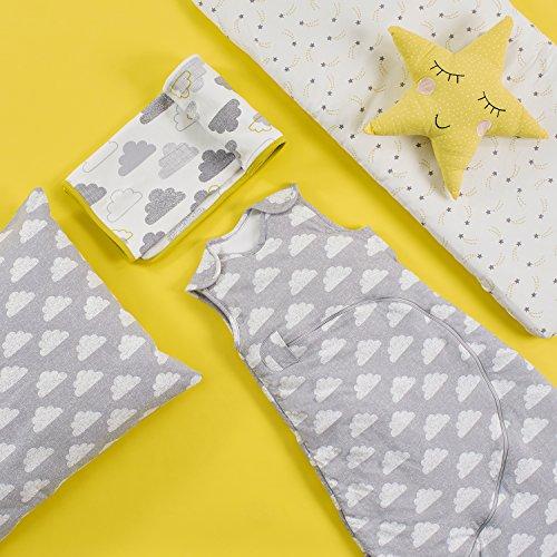 Snuz Crib Bedding Set – Cloud Nine Print (Fits SnuzPod and Chicco Next2Me)