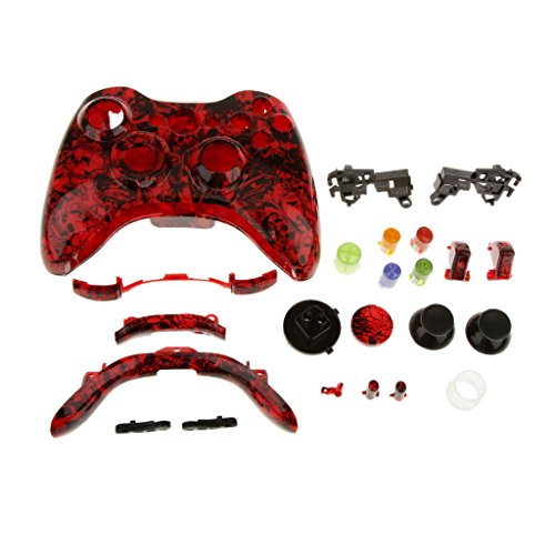 Ersatzfall Gehäuse Case Hülle Shell Taste Kit für Xbox 360 Controller - #1