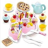 Yoliki 54 St Kinder Spielzeug Geburtstagkuchen Set Küche Baby Spielzeug