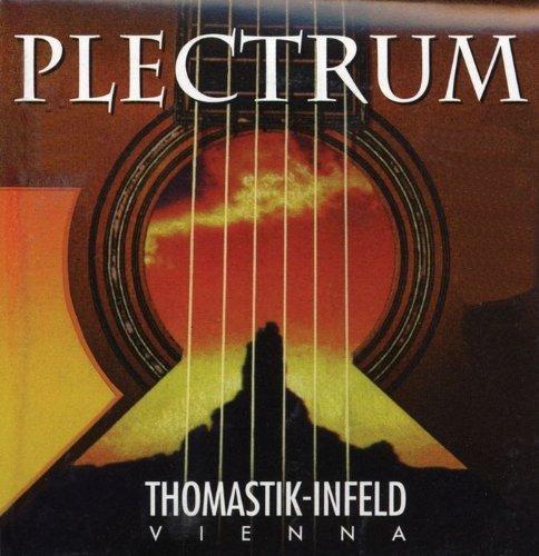 Thomastik Saite für Acoustic Gitarre Plectrum Acoustic Series. Nickelfrei Bronze Round Wound b- AC112. Medium light - Bronze Medium Light