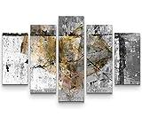 Sinus Art Wir sind die Guten Wandbild auf Leinwand Enigma Serie 5x100x30cm