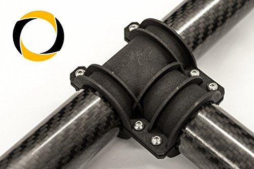 Preisvergleich Produktbild Ascending Composites Carbon Rohr T-Verbinder Gimbal 25mm