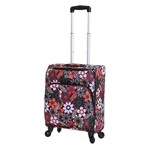 Karabar Alma 55cm maleta ruedas del hilandero, Múltiples Flores