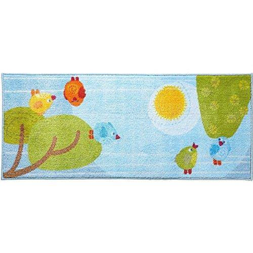 Preisvergleich Produktbild Haba 301072 Teppich Kleine Vögelchen (Polyester, 57x140cm)