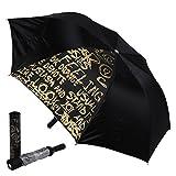 Style Homez Fashionable Wine Bottle Black 110 cm Travel Umbrella
