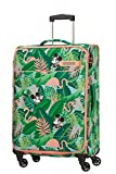 American Tourister Funshine Disney - Spinner M Koffer, 66 cm, 63.5 L, Mehrfarbig (Minnie Miami Palms)