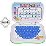 Mini Laptop For Kids, With Sounds. Learn English Study Game, Laptop Toy. By Sceva