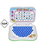 #4: Sceva Kids Learn English Study Game Mini Laptop with Sounds (Multicolour)