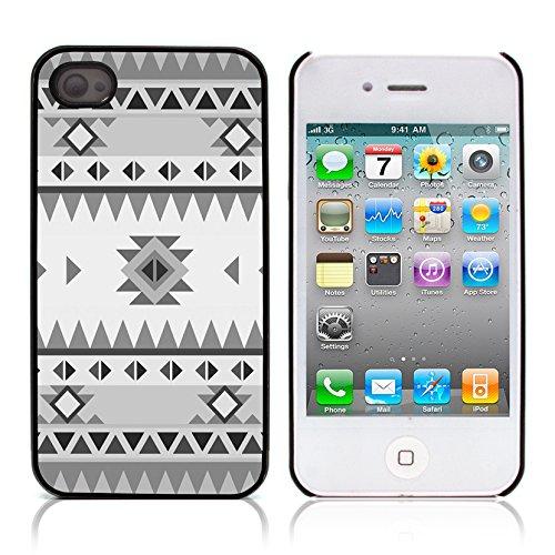 Graphic4You COLORFUL TRIBAL Muster Harte Hülle Case Tasche Schutzhülle für APPLE IPHONE 4 und 4S Design #8