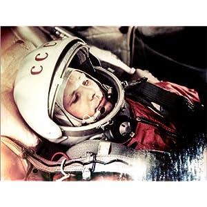 Acrylglasbild 40 x 30 cm: Yuri Gagarin an Board der Vostok 1 von Science Photo Library – Wandbild, Acryl Glasbild, Druck auf Acryl Glas Bild