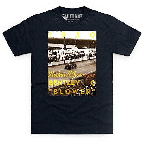 Official LAT Photographic 1930 Le Mans 24 Hours, France T-Shirt, Herren Schwarz