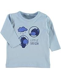 NAME IT Camiseta Sin Mangas - Manga Larga - Para Bebé Niño