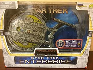 Star Trek - I.S.S. Enterprise NX-01 Starship Special Edition (In A Mirror. Darkly) mit Action Sounds & Light-Up Engines