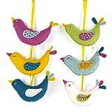 Corinne Lapierre Felt Summer Birds Sewing Craft Kit