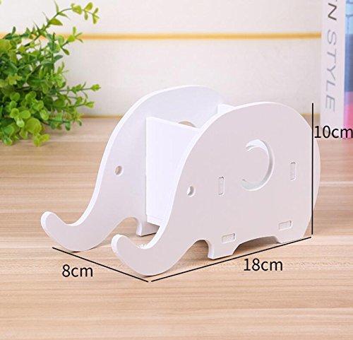 Warmman Zuhause Muss versorgt Werden Montiert Multifunktionale Elefanten Stifthalter Handy Stand Schreibtisch Aufbewahrungsbox