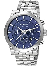 Esprit Collection Herren-Armbanduhr Poros Chronograph Quarz Edelstahl EL102121F01