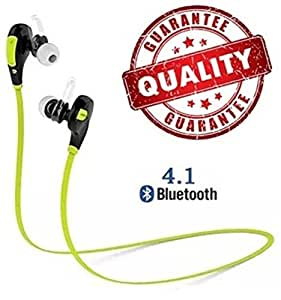 Voltac Professional Bluetooth 4.1 Wireless Stereo Sport Headphones Headset Running Jogger Hiking Exercise Hi-Fi Sound Hands-Free Calling Pattern # 160070