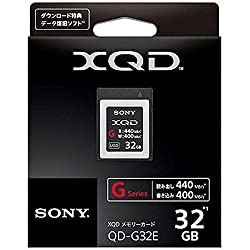 Sony 32gb Xqd Flash Memory Card - High Speed G Series (Read 440mbs & Write 400mbs) - Qdg32e