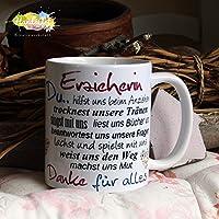 Kaffeebecher ~ Tasse - Erzieherin ~ Weihnachten Geschenk