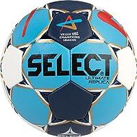 Select Ultimate Replica–Pelota de Balonmano, Todo el año, Color We/Bl/Ro, tamaño 1