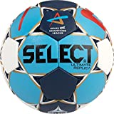 Select 1671854 Ballon de Handball Mixte Adulte, Blanc/Noir/Rouge, 2