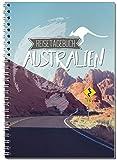 Reisetagebuch Australien zum Selberschreiben