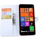 Funda Libro para Nokia Lumia 1320, Ycloud Suave PU Leather Cuero Con Flip Cover, Cierre Magnético,...